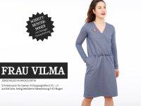 Schnittreif Frau Vilma Kleid mit Wickeloberteil