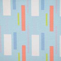 Canvas Tillisy bedruckt hellblau Rechteck