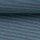 Jersey Bella fein geringelt petrol-blau