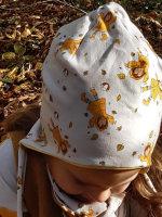 French Terry Emmapünktchen Herbstmädchen