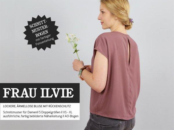Schnittreif Frau Ilvie Bluse mit überschnittenem Ärmel