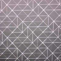Jersey geometr. Linien grau