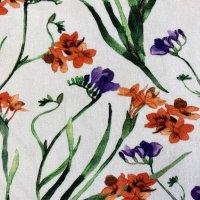 Jersey Iris Blume rot
