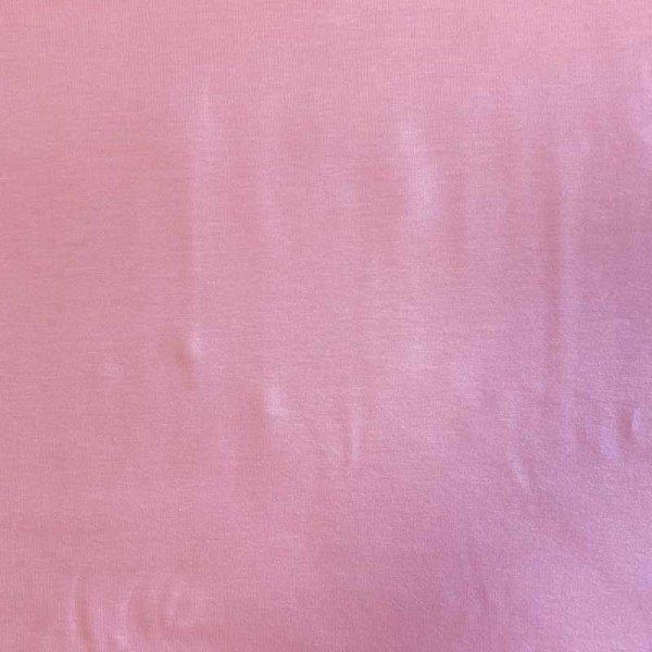 Jersey uni apricot-rosa