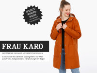 Schnittreif Frau Karo  Anorak
