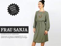 Schnittreif Frau Sanja Kleid mit weiten Ärmeln