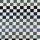 French Terry Squares blau weiß LilaLotta