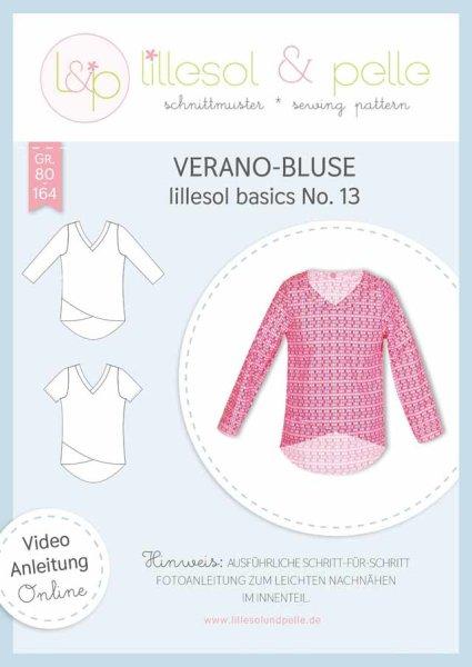 Lillesol&Pelle Stars No.13 Kinder Verano-Bluse Gr. 80-164