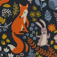 French Terry Füchse, Hasen und Bären Dwellers...