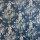 Musseline Carolin blaue Ornamente