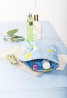 Beschichtete BW glatt Tillisy hellblau Zitronen