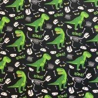 Jersey Jesse - grüne Dinos schwarz