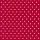 Jersey Verena - dunkelrot Punkte