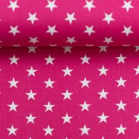 BW-Druck Carrie Sterne pink